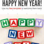 """Keep Kids In Piano Lessons With This """"Happy New Year and Welcome Back"""" Letter"""