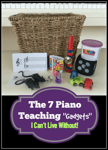 Most Useful Piano Teaching Props