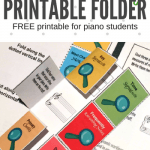 Each Piano Piece Should Begin With This Printable
