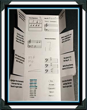 Score Study Folder Example
