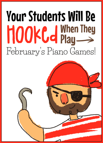 February's Piano Game Set