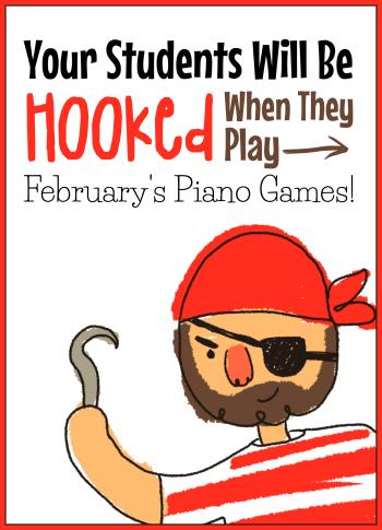 February's Piano Game Set