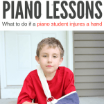 What To Do When A Piano Student Breaks, Sprains, Twists, Or Burns A Hand