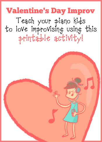 Valentine's Day Improv Printable