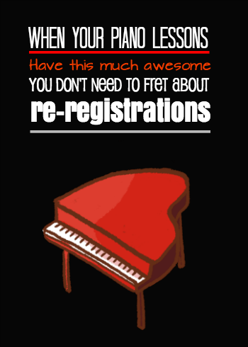 re-registration helpers