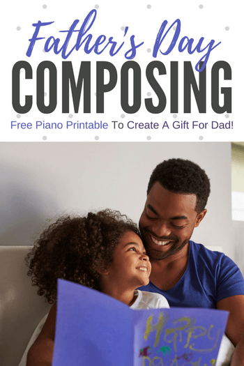 A Piano Composition For Father's Day
