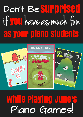 June Piano Games 2