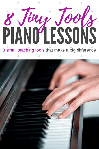 8 piano teaching tools