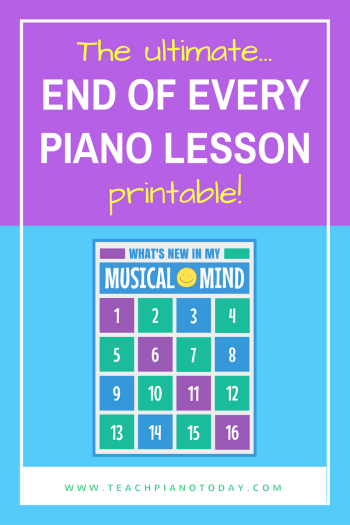 end-of-lesson-printable