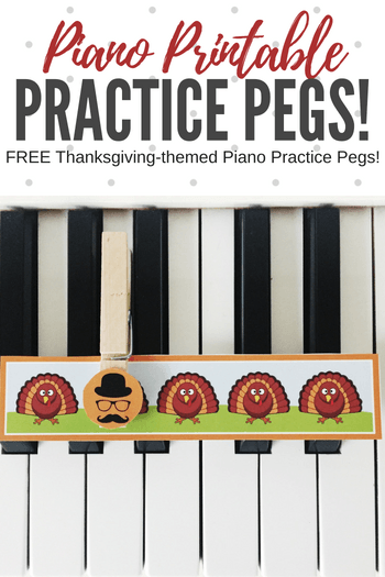 This cute, motivating home practice tool for piano students is exactly what you need in November. With the excitement of Halloween over this is the perfect thing to make them smile! #TeachPianoToday #PianoLessons #PianoTeaching #PianoPractice