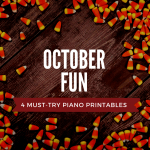 Get Ready For October With This Goody Bag Of Piano Lesson Printables!