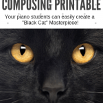 This Halloween Printable Will Turn Your Piano Students Into Spooktacular Composers