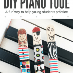 A Loveable DIY Tool To Teach Little Piano Players How To Practice