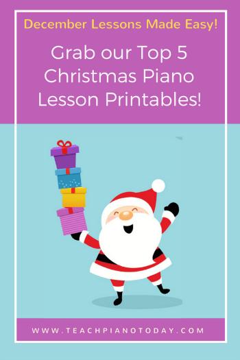 Our Top 5 Christmas Piano Printables To Kickstart An Amazing Holiday ...