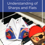 A Fun Pirate Piano Printable To Reinforce Understanding Of Sharps and Flats