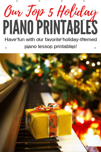 Christmas Piano.Our Top 5 Christmas Piano Printables To Kickstart An Amazing