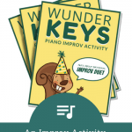 Celebrate Piano Student Birthdays With This Printable Improv Activity