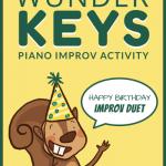 Celebrate Piano Student Birthdays With This Printable Improv Activity