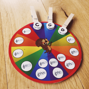 photo about Printable Circle of Fifths Wheel identify The Circle of 5ths Wheel Of Enjoyment; An Interactive, Arms-Upon