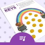 Teach Primer-Level Piano Students About Rests With This Rainbow Rhythm Printable