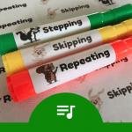 Reinforce Directional Movement With This 'Bright' Idea DIY Piano Teaching Tool