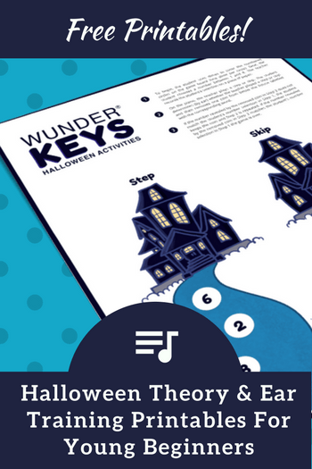More Halloween Piano Printables To Make Your Lesson