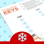 "Christmas Piano Printables To Keep The Educational ""Snow"" Ball Rolling This Season"