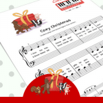 Christmas Sheet Music To Delight Your Primer and Preschool Piano Students