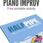 "Find Your ""Cool"" With This Snowboarding Improv Activity For Elementary Level Piano Students"