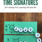 Reinforce Understanding Of Time Signatures With DIY Caterpillar Cards!