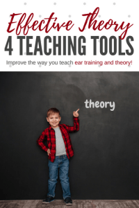 Bored with the way you approach theory and ear training in your piano lessons? We can help with these 4 printable resources!