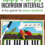 Learning To Read Steps And Skips With Intervallic Inchworms