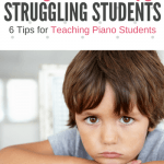 The DO's and DON'Ts Of Talking To Struggling Piano Students