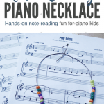 Have Some Score Study Fun With Our DIY Note-Reading Necklaces