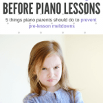 5 Things Piano Parents Should Do Before Driving To Piano Lessons