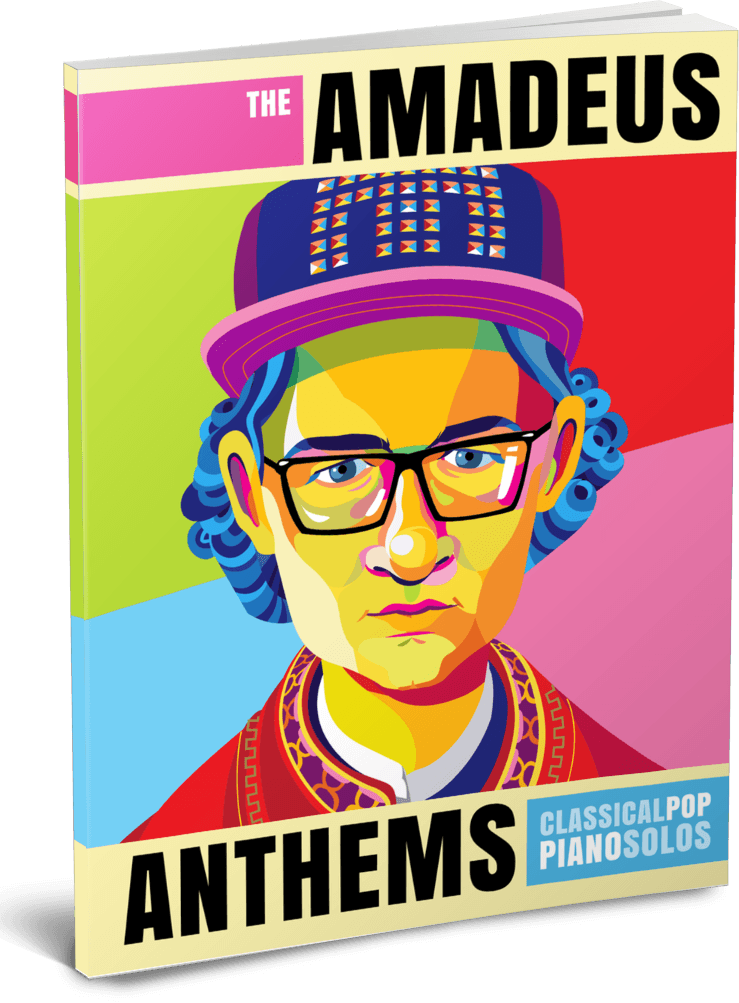 The Amadeus Anthems – Classical Pop Piano Solos