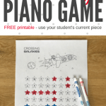 Blast Off With A Score Study Piano Printable That Is 'Out Of This World'!