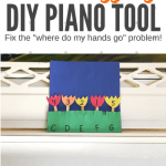 "A DIY Piano Teaching Tool To Defeat the ""Where do my hands go?"" Dilemma"