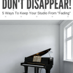 "Why You Shouldn't Let Your Piano Studio ""Go Dark"" This Summer"