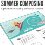 Make Composing Cool With This Surf's Up Summertime Piano Printable