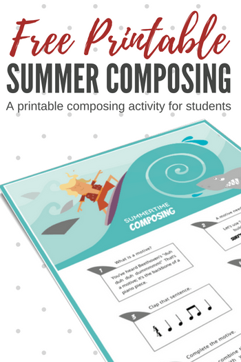 Summer Piano Compositions