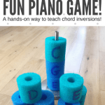 Use Pool Noodles To Reinforce Chord Inversions With This Hands-On Piano Activity