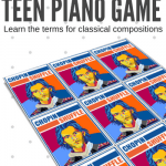 Chopin Shuffle: A Teen Piano Printable To Make Classical Music Theory Meaningful