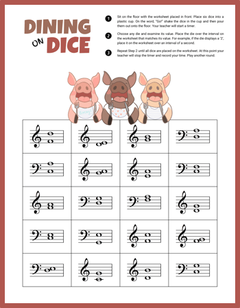 photo relating to Printable Dice Games called Feast Upon Periods With This Printable Cube Recreation For