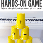 How Your Piano Students Can Have A Blast Stacking Cups And Reinforcing Rests