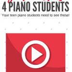 Five Piano-Playing Youtube Superstars To Inspire Your Teen Students