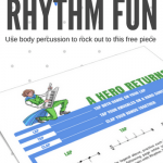 A Rhythm Printable To Get Your 'Energetic' Kids Ready For The Return Of Fearless Fortissimo