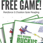 Note Reading Ruckus – A Printable Piano Game To Destroy Note Reading Roadblocks