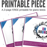 Unbound: A 3-Page Improv Piano Solo For Teens When It's Time To Play Off The Page