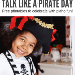"A Teen Piano Solo And Primer Sight-Reading Activity To Celebrate ""Talk Like A Pirate Day"""